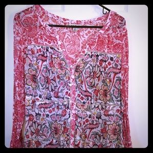 Lucky Brand, NWOT blouse